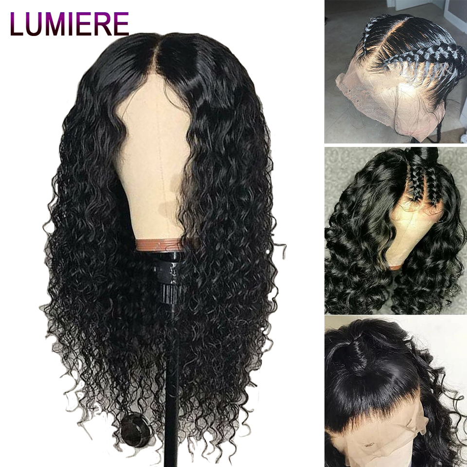 Brazilian Water Wave Wig 13x4 Lace Front Human Hair Wigs For Women Remy Human Hair Wigs