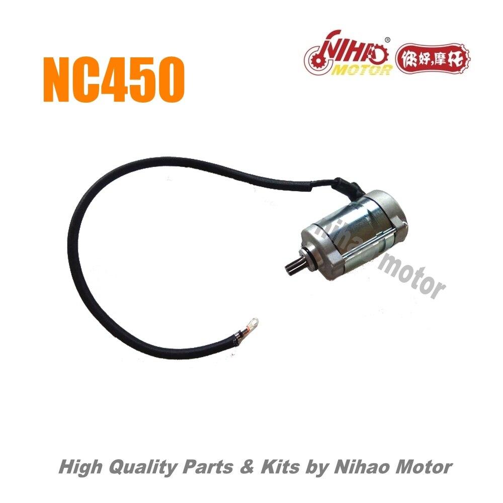 76 NC450 pièces démarrage moteur ZONGSHEN moteur NC RX4 ZS194MQ (moteur Nihao) KAYO Motoland esb VENTO Asiawing Xmoto