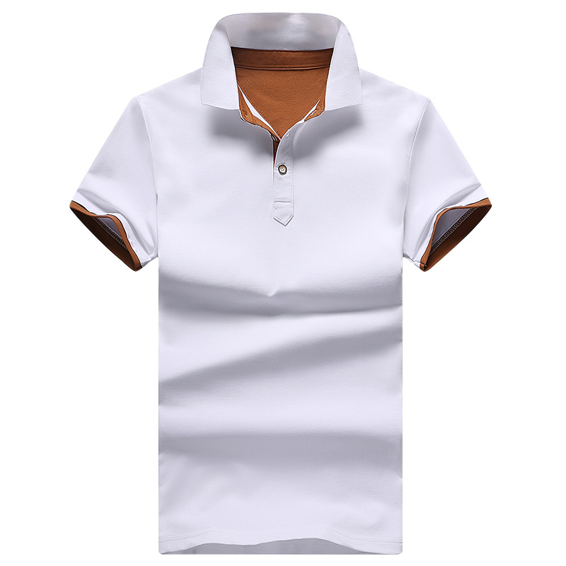 2018 Summer Brand Men   Polo   Shirts Fashion Classic Solid Color Short Sleeve   Polo   Shirt Male Top Tees Plus Size M-5XL   Polo   Homme