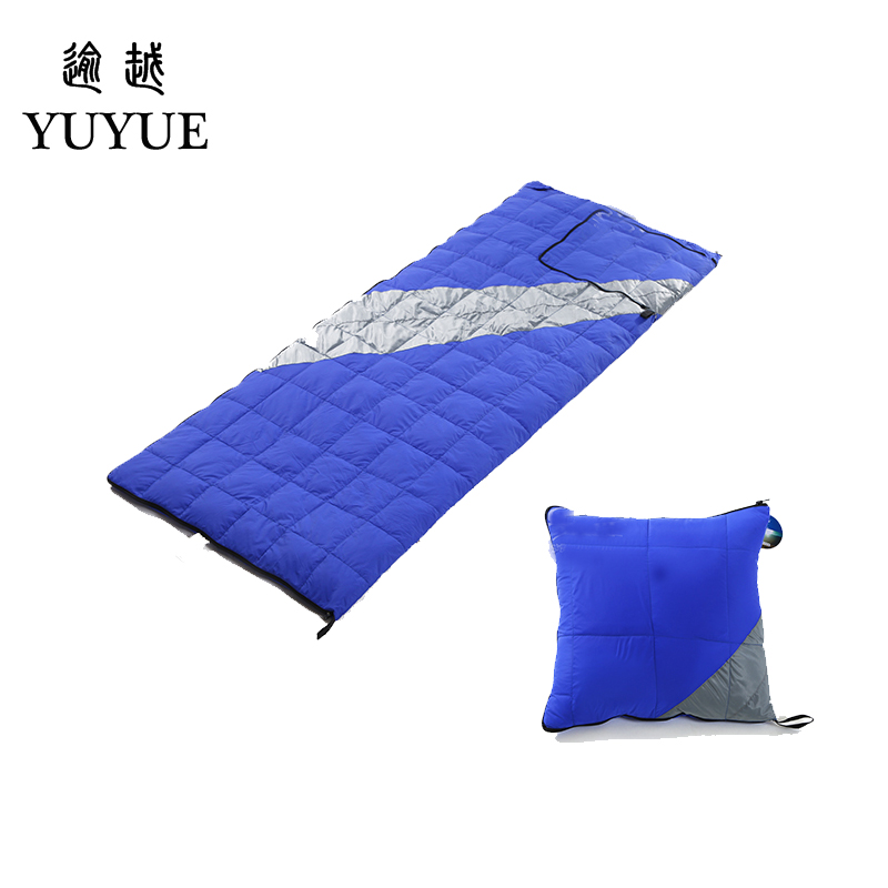 High Quality Light Down Sleeping Bag Ultralight For Camping Tent Soft Sleeping Bag Multi-function Pillow For Car Sofa Sleep Bag 0