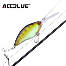 ALLBLUE Floating Deep Diving Crankbait Fishing Lures 17.8g/70mm Lifelike Wobblers With 6# Owner Hooks peche isca artificial