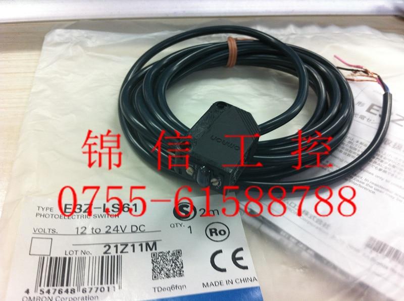 E3Z-LS61  OMRON photoelectric sensor [zob] new original omron omron beam photoelectric switch e3jk tr12 c 2m 2pcs lot