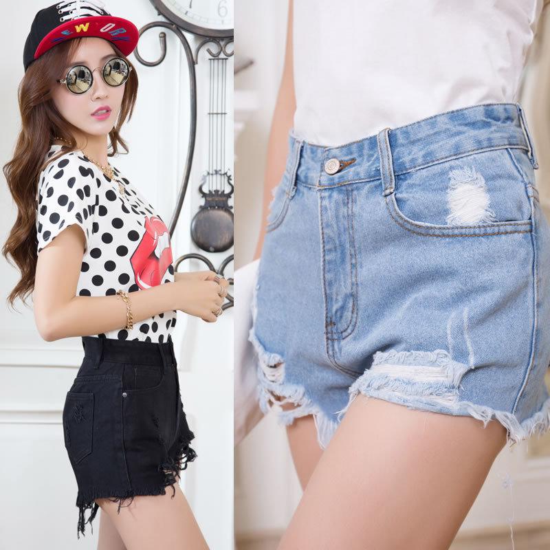 Aliexpress.com : Buy New 2016 Summer Style Women Denim Shorts Hole ...
