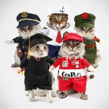 Funny Dog Cat Costumes Boxer Doctor Nurse Cosplay Suit Pet Clothing Halloween Uniform Clothes For Puppy Dogs Costume for a cat