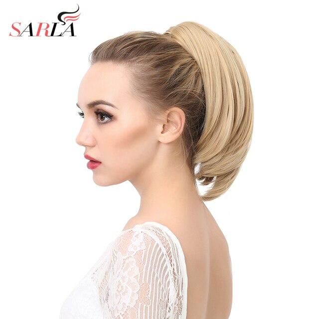 Sarla 200pcslot Ponytail Hair Extension Resist High Temperature