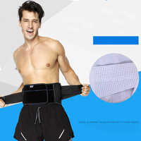 Sport Fitness Exercise Waistband Body Building Weightlifting Stretch Waist Steel Plate Support Band Pressure Protector Aerobics
