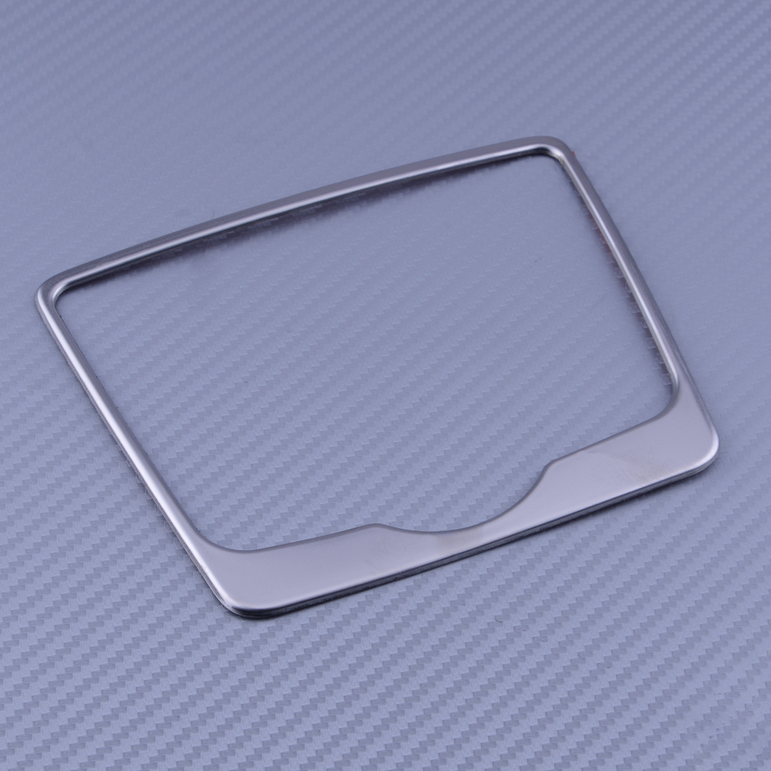 beler Stainless Steel Gear Shift Position Panel Decorative Cover Trim fit for <font><b>Audi</b></font> <font><b>A4</b></font> A4L <font><b>2017</b></font> image