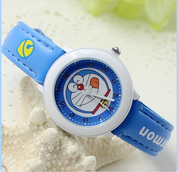 Children's Watches Boys and Girls Cartoon Dingling Cats Student Waterproof Quartz Electronic Watches