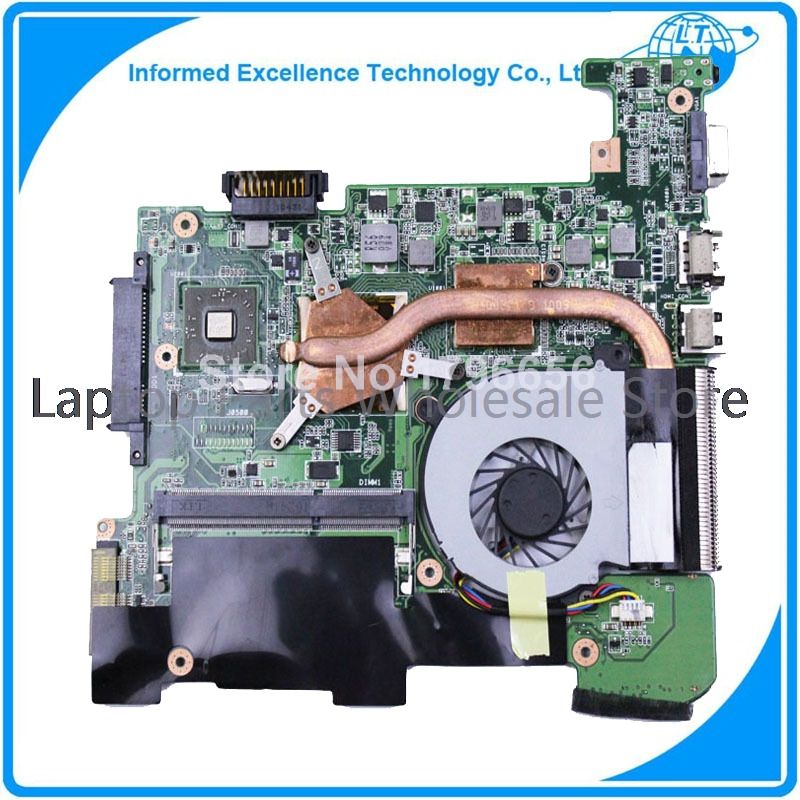 For ASUS 1215T Laptop Motherboard with fan1215T mainboard rev 2.0 full tested free shipping