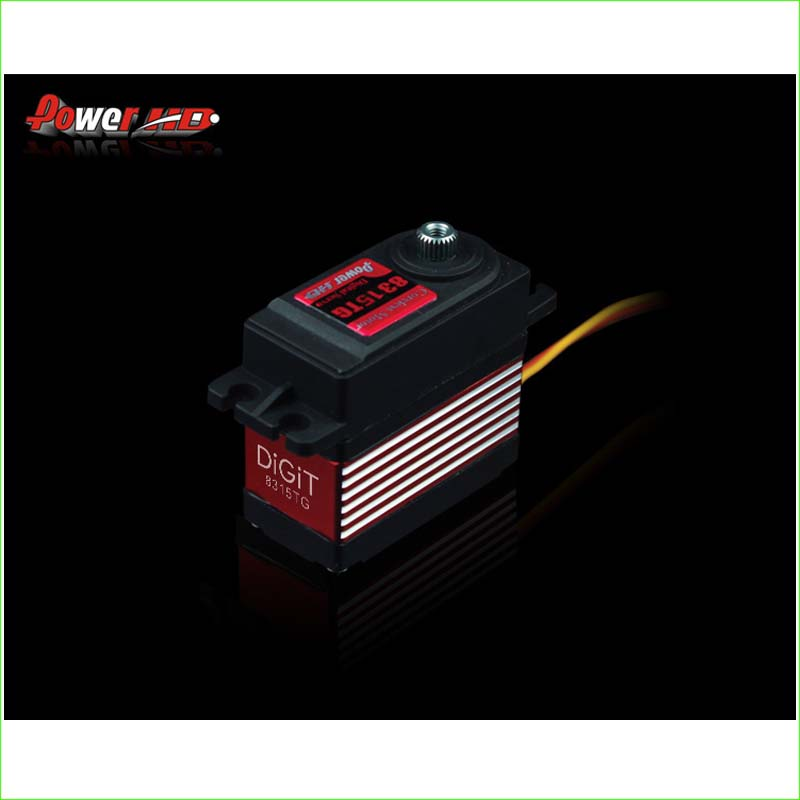 1pcs POWER HD-8315TG 16KG high torque metal gear digital servo suitable for Bigfoot car 0.16 sec (4.8V) 0.14 sec (6.0V) free shipping 5pcs lot pm49fl004t 33jce offen use laptop p 100% new original