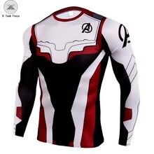 Men T Shirt 2019 Avengers 4 Tshirt Infin