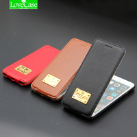 I6 6s Plus Up And Down Flip Genuine Leather Phone Case For IPhone 6 6S 6