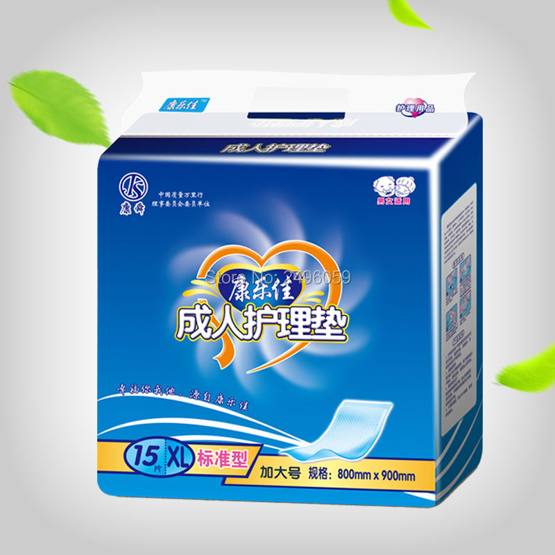 15pcs large area disposable absorbent bed sheet nursing pad