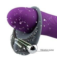 Bullet Penis Vibrator Ring Delay Ejaculation Adult Sex Toys