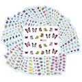 50 Pcs/Lot Flower Nail Art Decoration Sticker Tools Nail Water Stickers All For Nails Decals DIY Decorations Wholesale BNAo502
