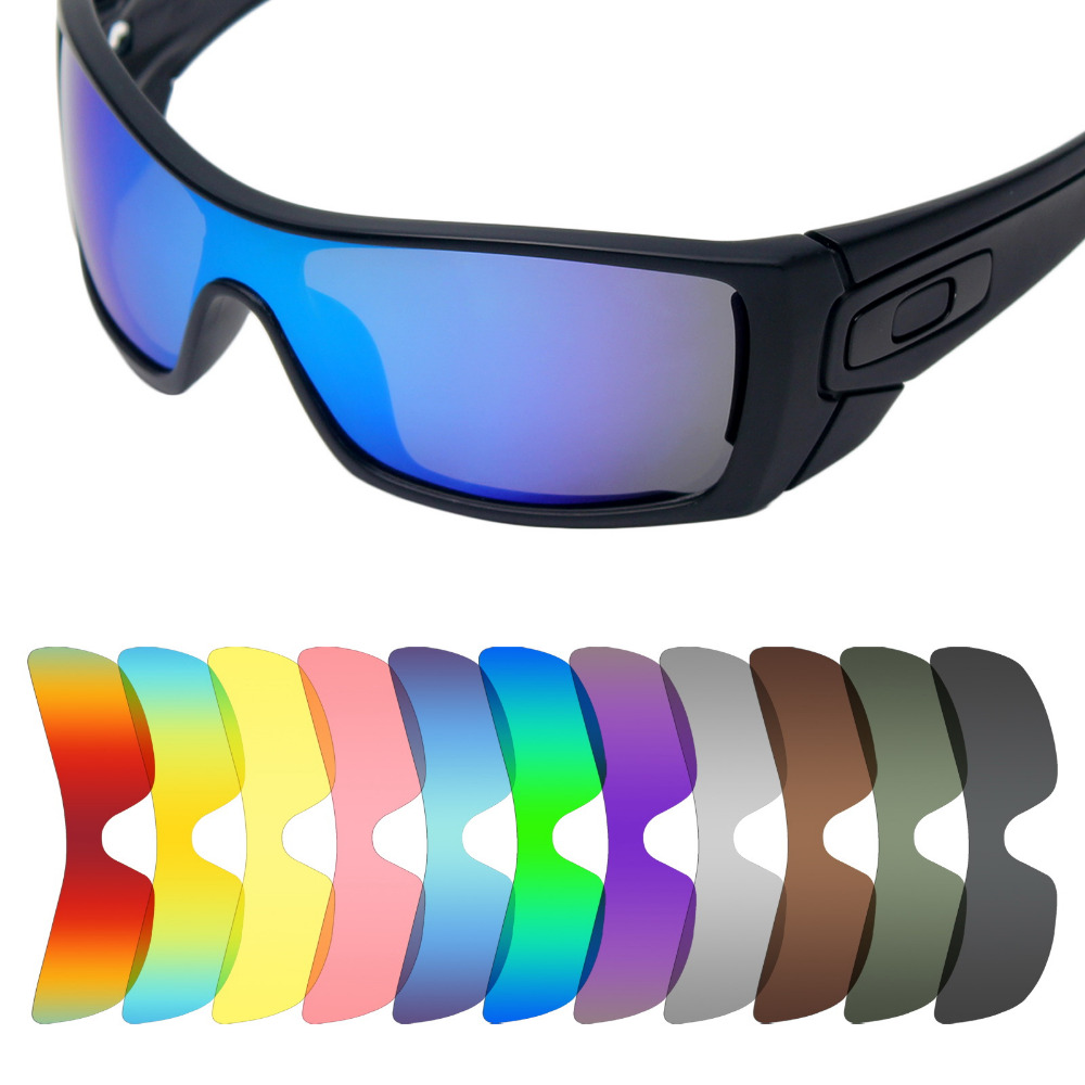 Mryok Anti-Scratch POLARIZED Replacement Lenses For Oakley Batwolf Sunglasses Lens - Multiple Options
