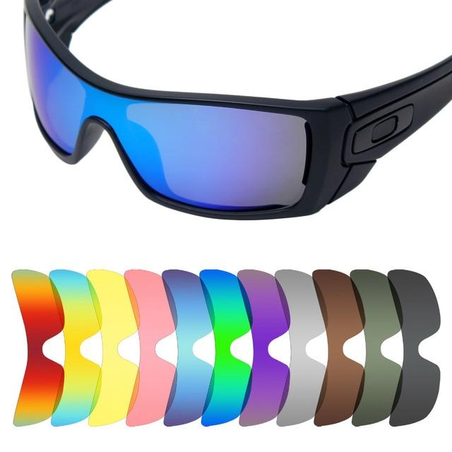 c3a9376d01f15 Mryok Anti-Scratch POLARIZED Lentes de Reposição para óculos Oakley Batwolf  Sunglasses Lens-Várias