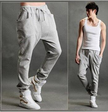 23db1af099f0 NWT Men Women Korean Style Casual Athletic Hip Hop Dance Sporty Harem Baggy  Tapered Sport Sweat Pants Slacks Trousers Sweatpants