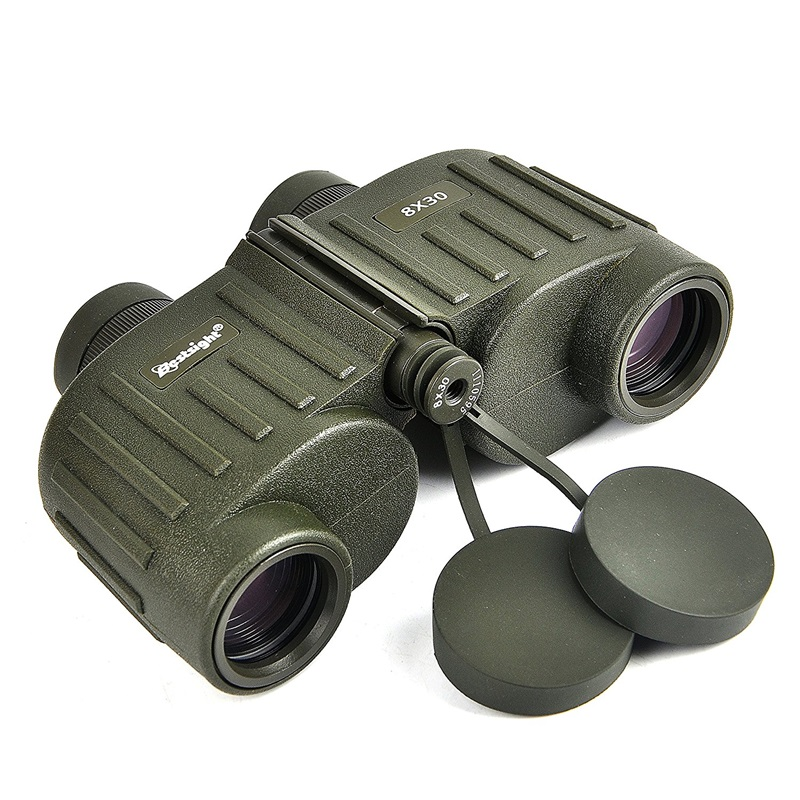 HD Waterproof 8X30 Military Binoculars Reticle Telescope With Range Finder For Hunting Filled With Nitroge стоимость
