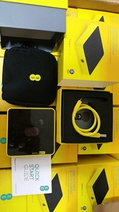 New | Unlocked EE Alcatel Y854 4G Mobile Broadband WiFi Black/Yellow