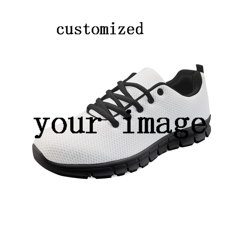 FORUDESIGNS Women Casual Sneakers Customized Design Comfortable Breathable Mesh Shoes Female Flats Shoes Famous Brand Sneakers цена
