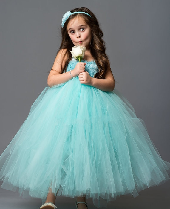 5 Colors Christmas costumes for girls Flower Girl Elsa dress High quality Tutu Princess Dress Girls