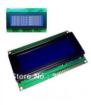New 2004 204 20X4 Character LCD Display Module Blue Blacklight blacklight blue