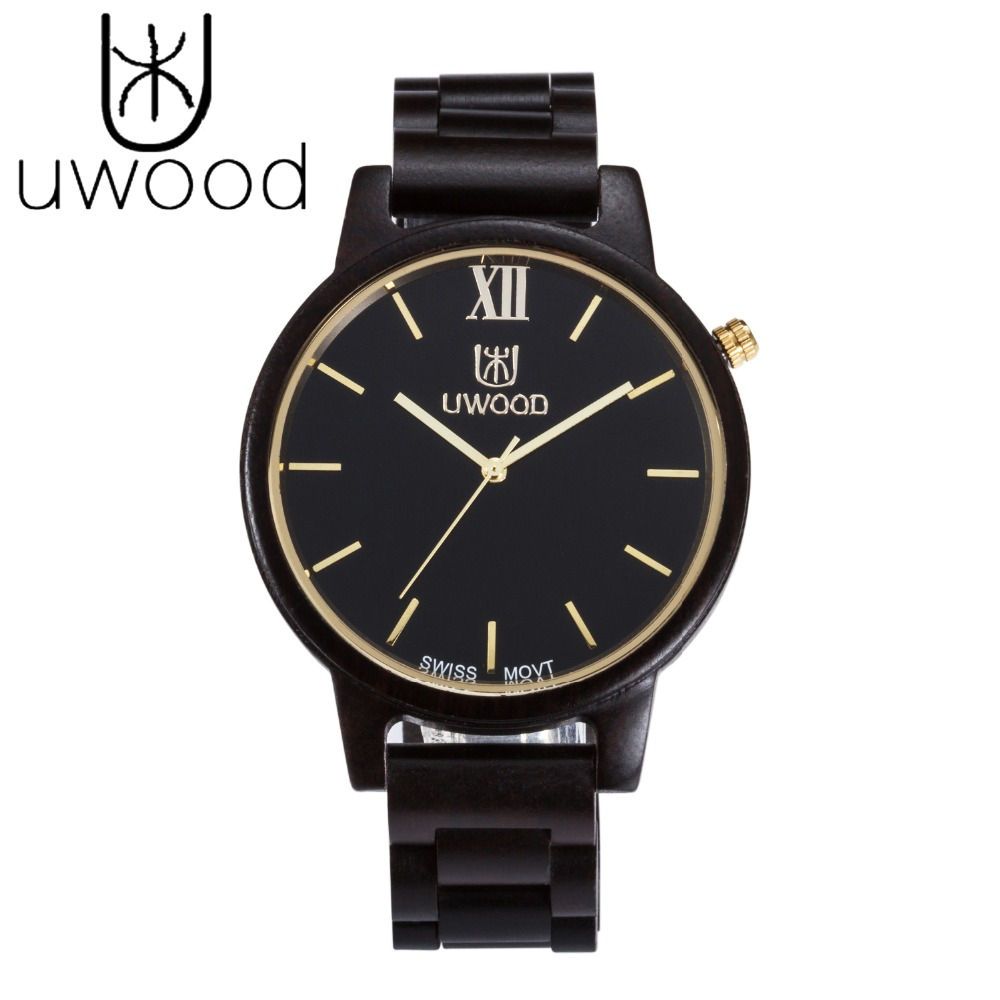 UWOOD Fashion Wooden Watches Men Japan Miyota Quartz Movement Wristwatch Men Women 100% Natural Wood Watches relogio masculino redear top brand wood watch men women wooden watches japan miyota fashion watch leather clock relogio feminino relogio masculino