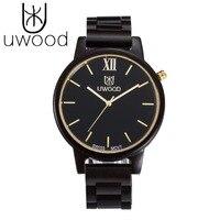 UWOOD Fashion Wooden Watches Men Japan Miyota Quartz Movement Wristwatch Men Women 100% Natural Wood Watches relogio masculino