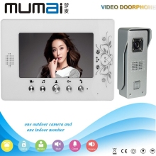 7 Inch TFT LCD Monitor Colour Video Door Phone Intercom System Smart Home Doorbell ring with waterproof night vision camera