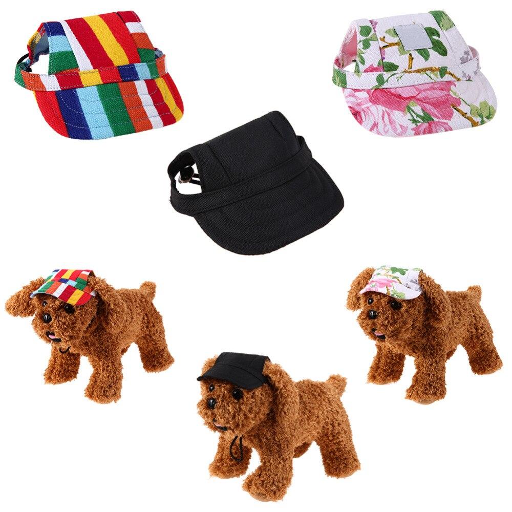 Leinwand Haustier Hund Hut Cap Baseball mütze für Kleine Hund Welpen ...