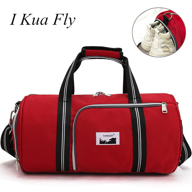 New Sport Gym Bag with Shoes Women Men Compartment Waterproof Unisex Outdoor Backpack Support Durable Fitness Travel Bag