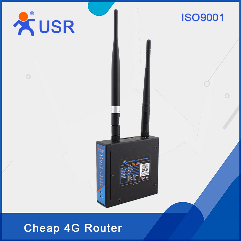 Q097 USR-G806 Industrial 3G 4G LTE Wireless Routers Support APN VPN PPPOE DHCP SIM Card Slot free shipping support vpn f3846 lte dual sim 4g router for atm kiosk