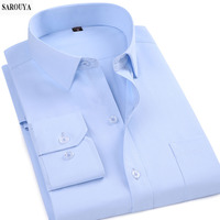 Men Shirt With Long Sleeves Business Shirt Men S Clothes Slim Fit Casual Mens Dress Shirts