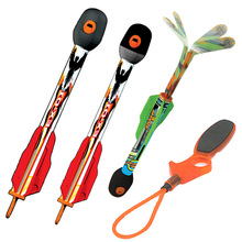 Boys Toys Outdoor Sport Kids Fly Rocket Sky Ripperz Super Sonic Bungee-Launched Rockets Flies up to 250 Ft 8+ Yrs ZB531