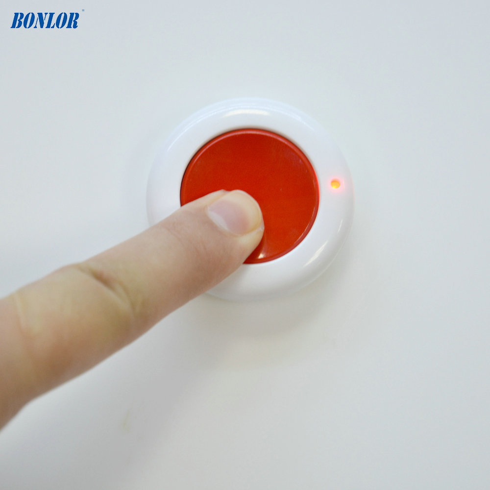 10PCS New 1527 433mhz Press SOS wireless panic Button for GSM WIFI Alarm system anti burglar security home calling Free Shipping цена