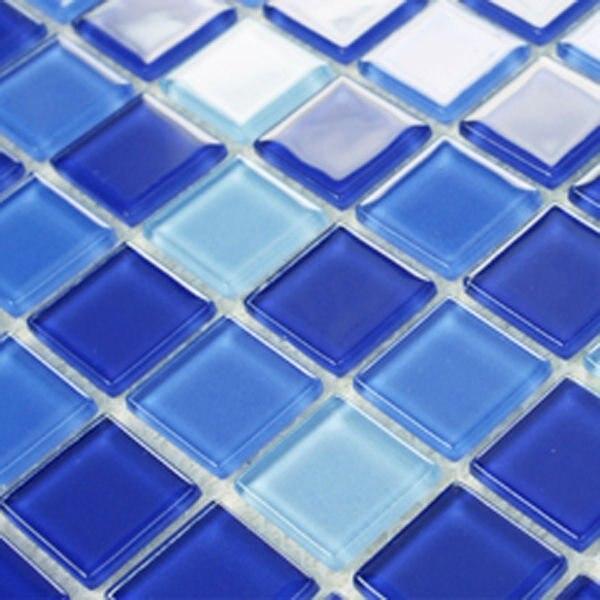 Pisos de baldosas de vidrio de cristal de malla deco azulejo de la ...