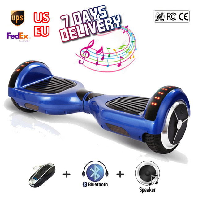 6.5   polegadas 2 rodas auto balanceamento de scooter hoverboard bluetooth  boi hoover board skate 981efed60ec