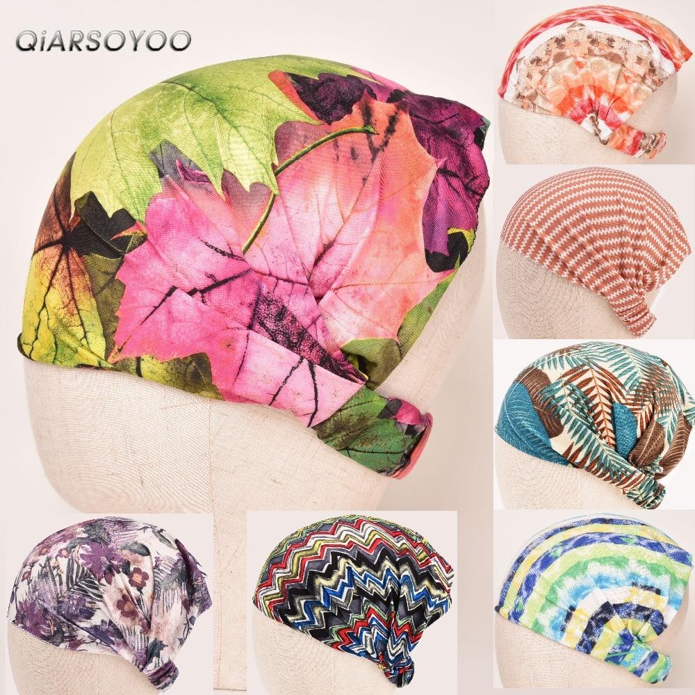 Detail Feedback Questions about Women s Stretch Bandana Printing Headband  Elastic Turban Hair Band Bohemia Style Head Wrap Hair Accessories Elastic  ... 244e28dd91c0