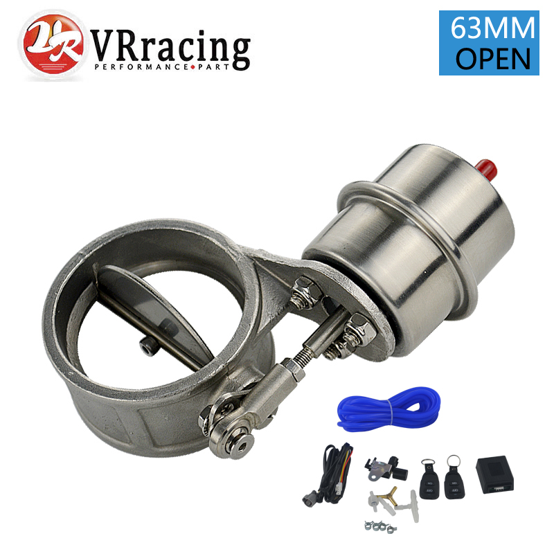 VR Exhaust Control Valve With Vacuum Actuator Cutout 2 5 63mm Pipe OPEN Style with ROD