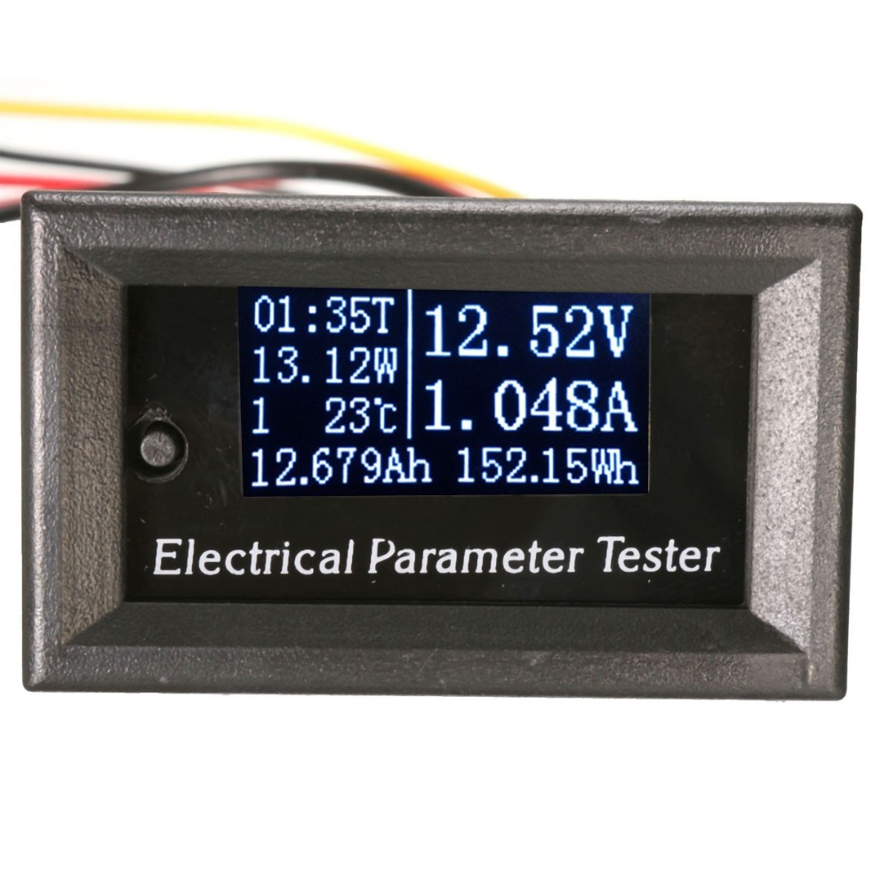 Oled LCD 33V 10A DC Combo Meter Voltage Current Tester Power Capacity Battery Monitor free shipping new genuine original printhead printer head for dfx8500 dfx 8500 dfx8000 dfx 8000 1037283