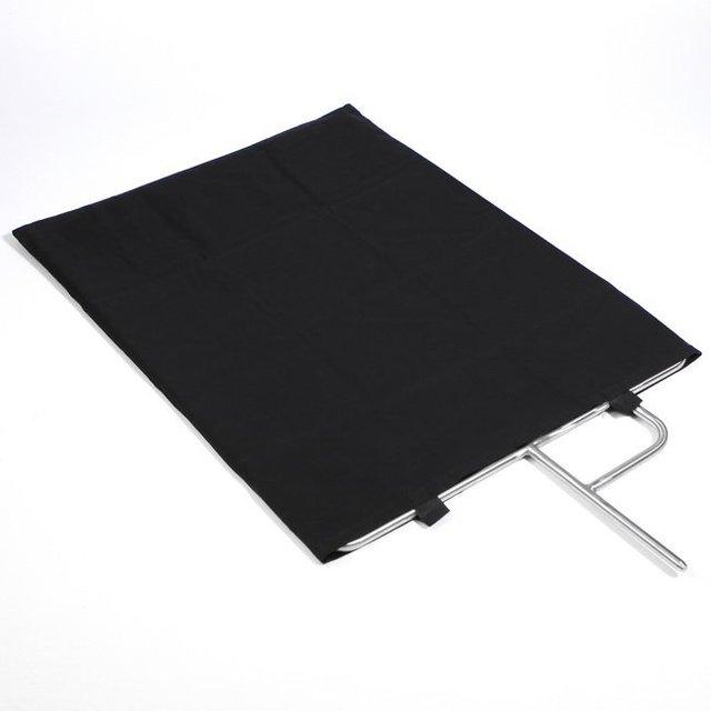 Meking 60x75cm Pro Video Studio Edelstahl Flagge Panel Reflektor Diffusor