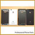 Первоначально Новая Передняя Рама Задняя Крышка Батареи Для Huawei G9 P9 Lite Корпус Частей Мобильного Телефона + Логотип, черный/Белый