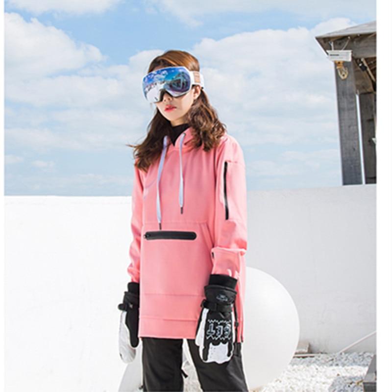 La Vogue Abrigo Chaqueta de Deportivo con Capucha para Mujer Monta/ña Invierno Calientes