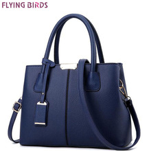 FLYING BIRDS 2017 handbag for women leather tote fmaous brands designer messenger bags ladies pouch high quality bag A19fb