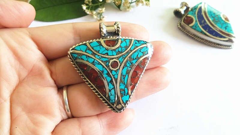 nepal hand metal pendants 158 (13)