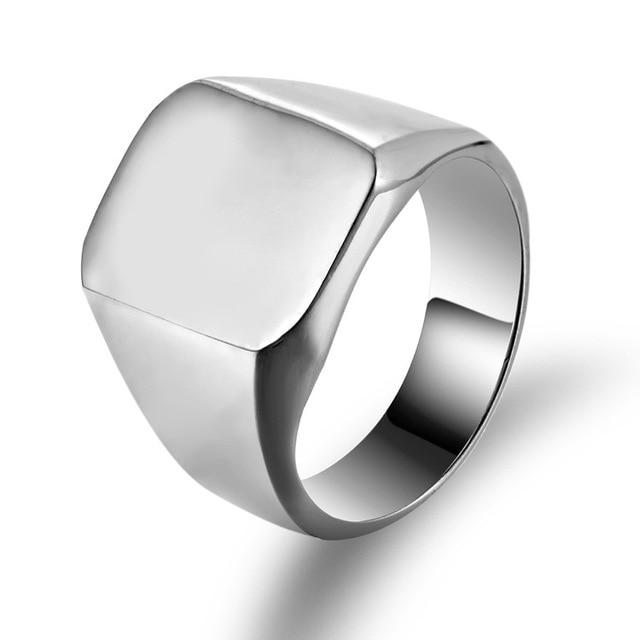 Купить мужские кольца в стиле панк черный рок крутое модное кольцо