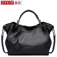 ZOOLER women leather bag top handle chains handbag classic luxury shoulder bags famous brand cowhide bags bolsa feminina  #8130