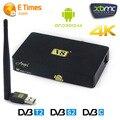 FTA receptores de satélite hd freesat suppprt v8 anjo sintonizador dvb dvb-s2/dvb-T2/Cccam dvb-c + 1 pc wi-fi usb conversores de tv digital