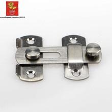 Wholesale 10pcs 3INCH Security Buckle Door Guard Bolt door Lock Safety sliding door bolt